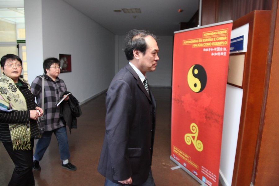 Imaxes José Luis Meilán Gil. Catedrático en Dereito Administrativo. Segunda parte.
